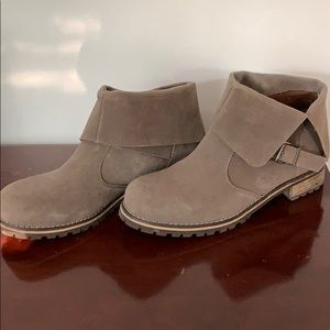 Cocoa Brown Booties